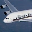 Singapore Airlines Airbus A380 za letu