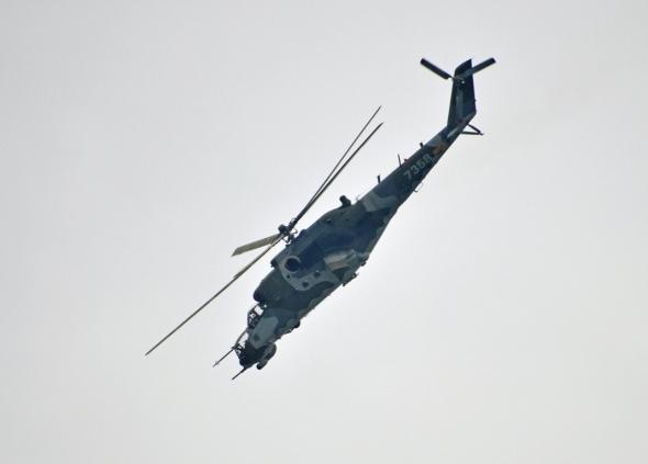 Bitevní vrtulník Mil Mi 35