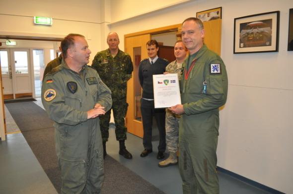 velitel úkolového uskupení island 2014