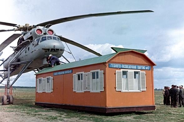 vrtulník Mil Mi-10
