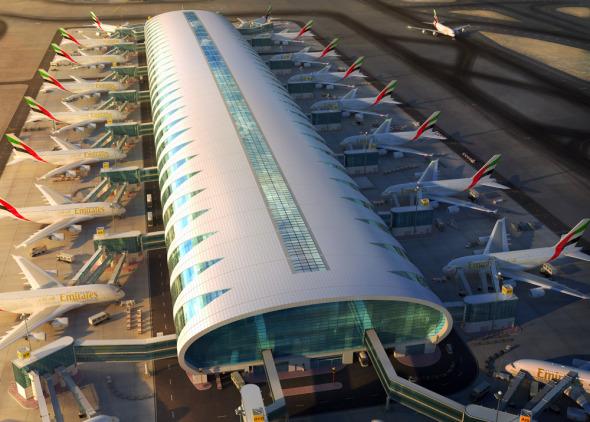 Dubaj letiště Emirates