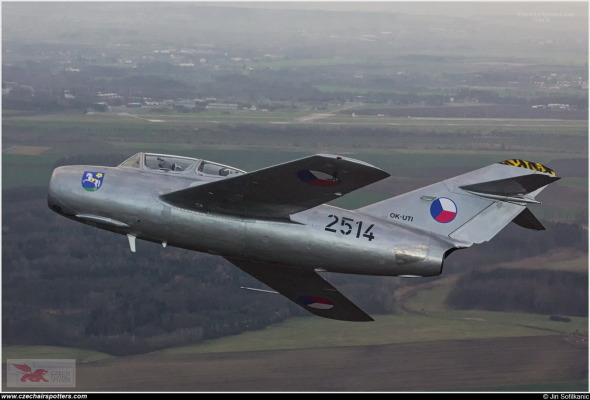 MiG 15 Hradec Králové