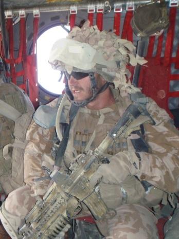 nadpraporčík p e při nasazení v afghanistanu