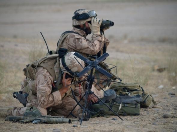 předsunutý letecký návodčí AČR v afghanistanu