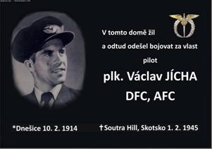 Deska Václav Jícha
