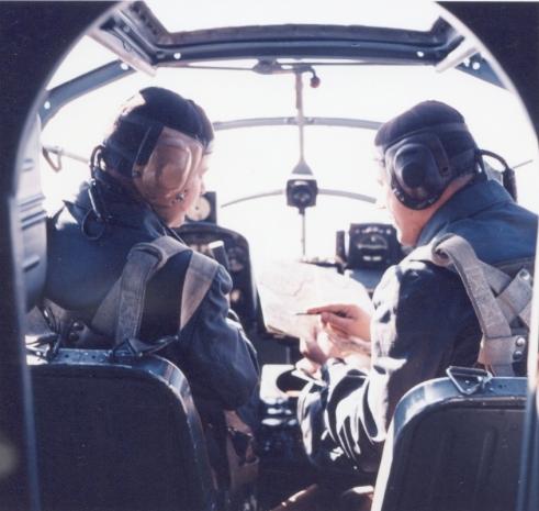Pilotní kabina Siebel 204D