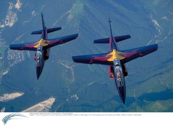 Alpha Jet Red Bull