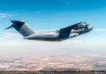 A400M stoupavý let