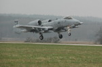 Fairchild A-10 Thunderbolt II náměšť 02