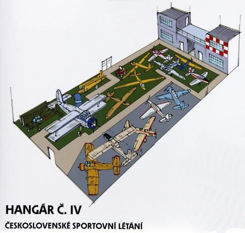 Stará Aerovka hangár IV