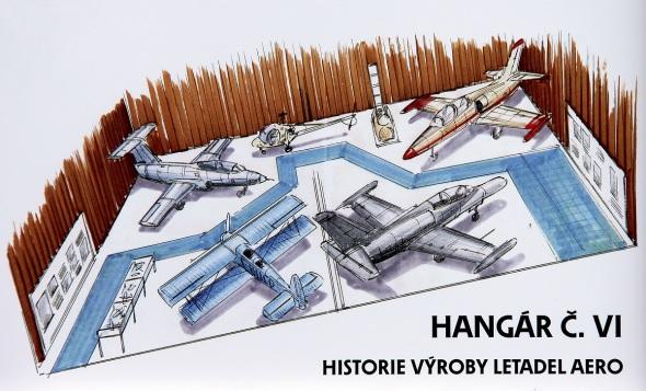 Stará Aerovka hangár VI