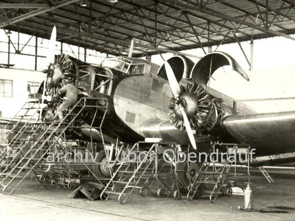 1947.00 Junkers údržba