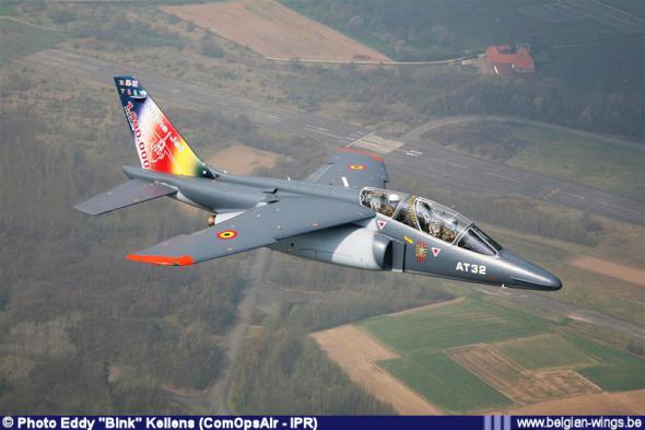 Alpha Jet belgické vojenské letectvo