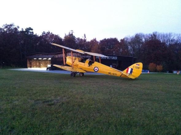 DH Tiger Moth Historická letka
