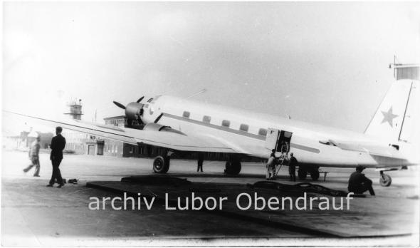 Junkers Ju 352 na Ruzyni