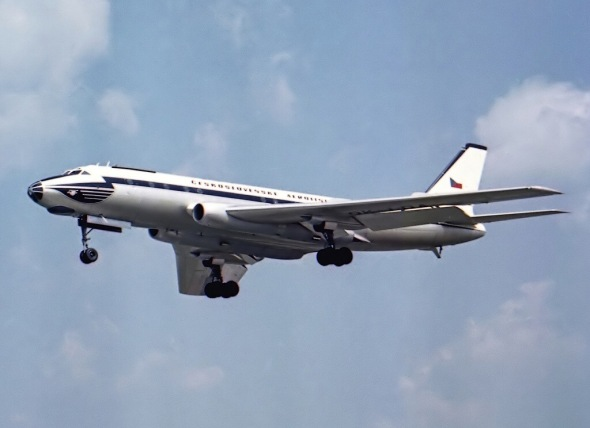 Tupolev Tu 104 ČSA