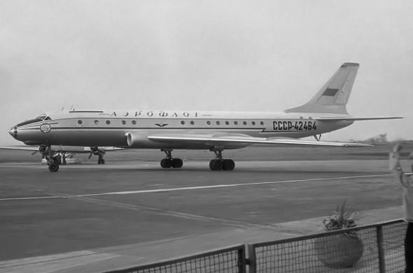 Tupolev Tu 104 Aeroflot