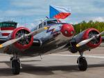 Lockheed Electra letecké muzeum Točná