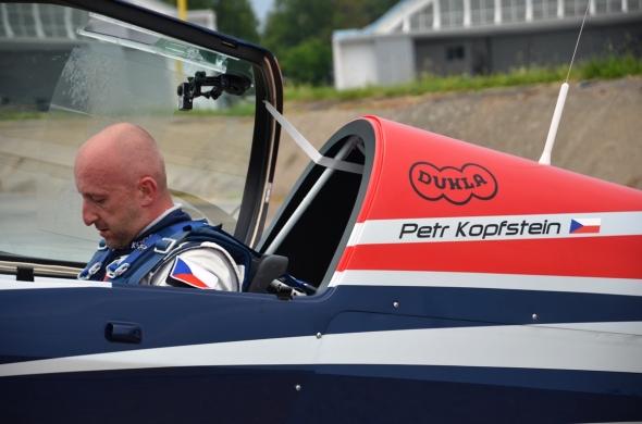 Petr Kopfstein před startem
