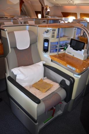A 380 first class