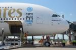 Airbus A 380 Emirates Praha