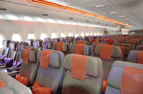 Airbus A 380 Emirates interier