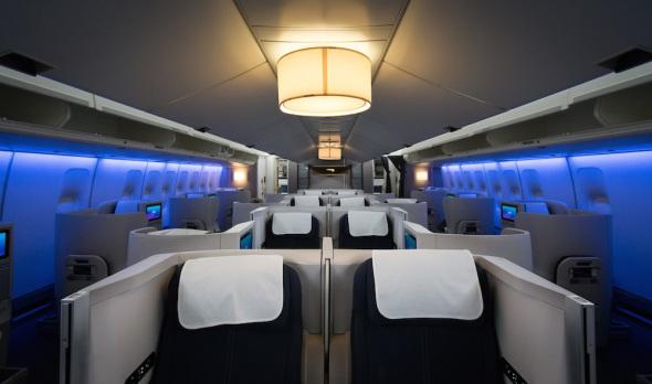 Modernizovaný Boeing Jumbo Jet British Airways