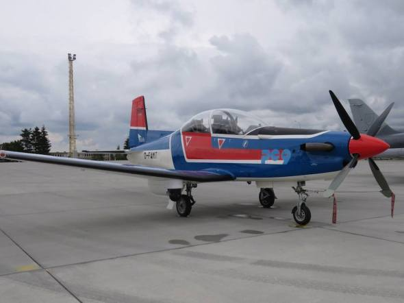 Pilatus PC 9 Ample Strike 2015
