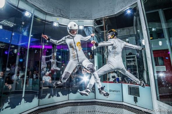 1. Mistrovství světa v indoor skydivingu Praha