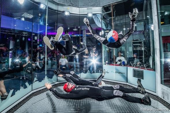 1. Mistrovství světa v indoor skydivingu Praha Lertňany