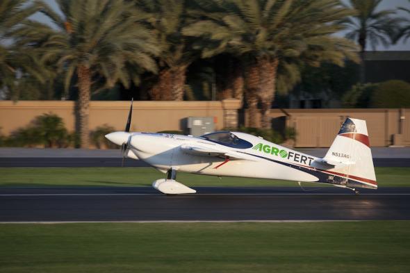 Red Bull Air Race Las Vegas příprava