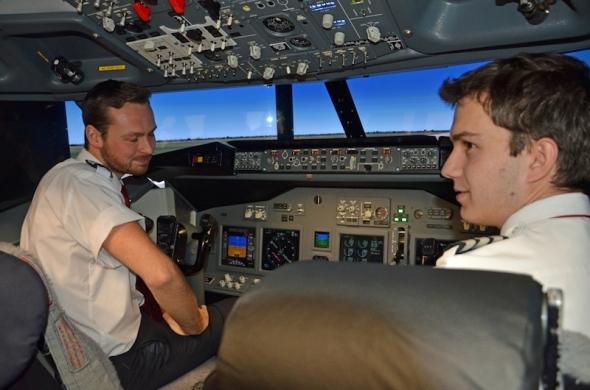 iPILOT Boeing 737 kokpit