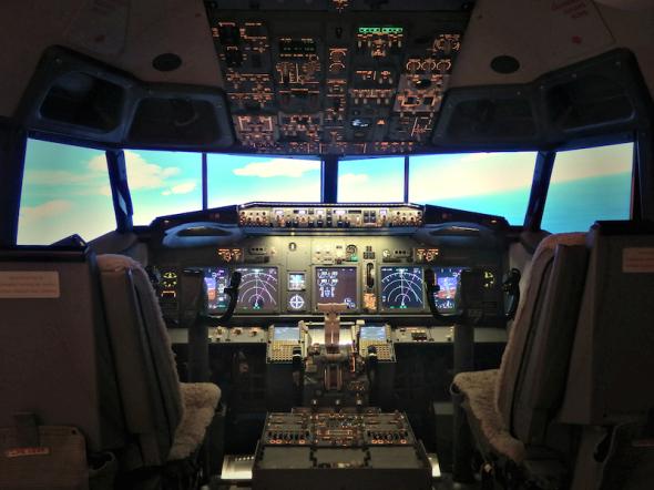 iPILOT Boeing 737 simulátor Praha