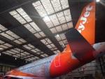 výroční letadlo easyJet