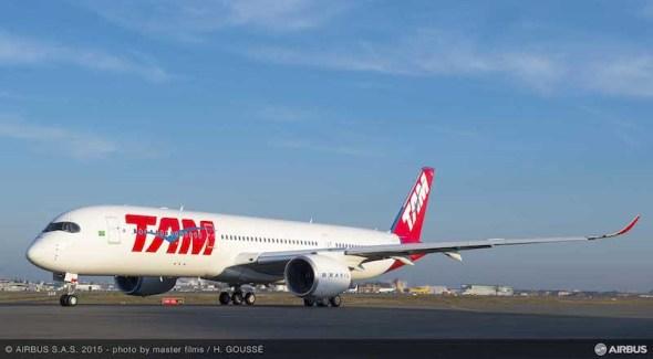Airbus A350 XWB TAM