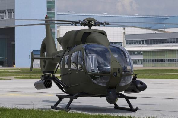 vrtulník H145M Mock-Up