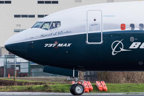 Boeing 737 800 MAX  002