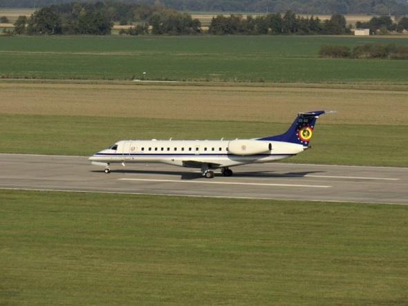 Letiště Přerov Embraer Belgické letectvo