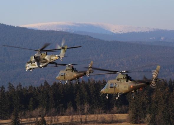 Agusta A 109 a Mi 24