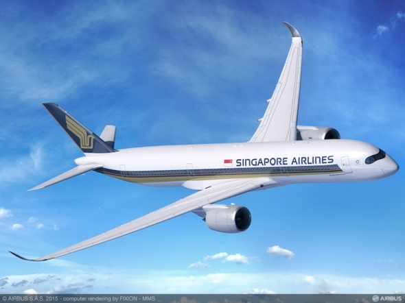 Airbus A350 900 ULR Singapore Airlines