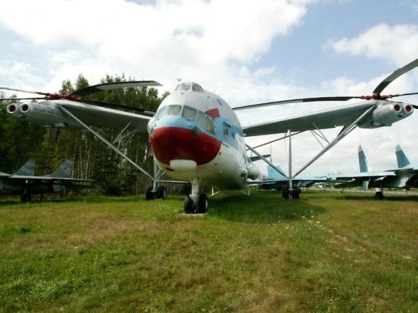 Monino vrtulník Mil V12