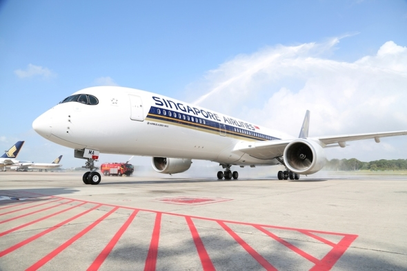 Singapore Airlines Airbus A 350 900