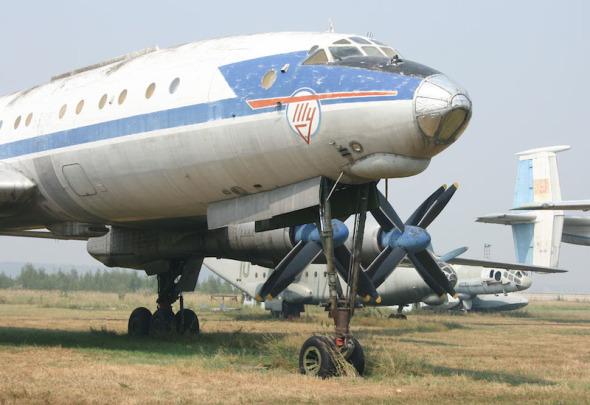 Tupolev Tu 114 Monino