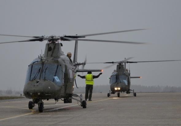 belgický vrtulník Agusta A 109