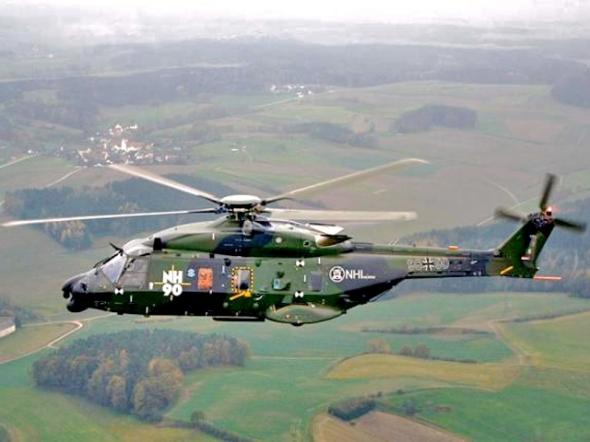 vrtulník NH 90