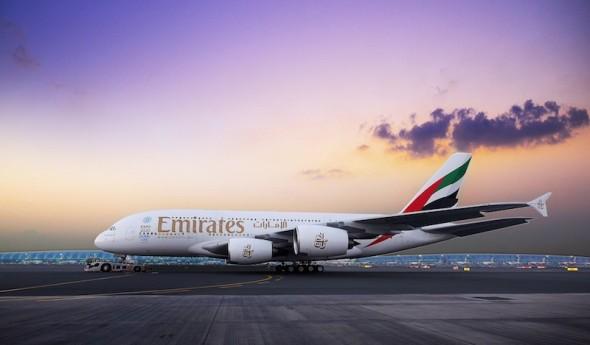 Airbus A 380 Emirates