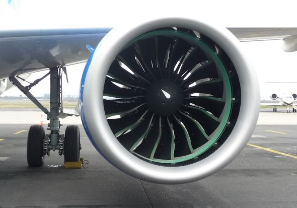 Bombardier CS 100 engine