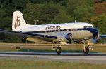 Douglas DC 3 Dakota přistání