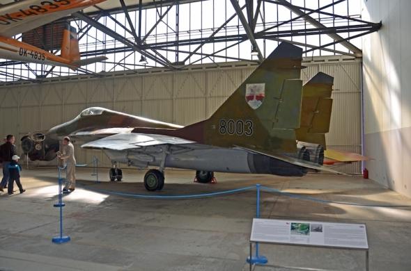 československý MiG 29 letecké muzeum Kbely