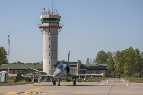 Aero L 159 letiště Siauliai Litva